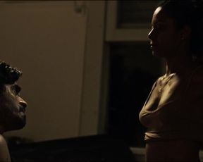 Naked scene Cinara Leal, Ethienne Estevam nude -  A Divisao s01e01 (2019) TV show nudity video