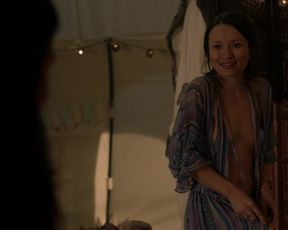 Naked scene Emily Browning, Maura Tierney nude - The Affair s04e07 (2018) TV show nudity video