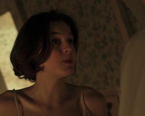 TV show scene Emma Corrin, Paloma Faith nude - Pennyworth s01e02 (2019)