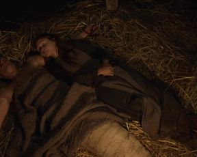 TV show scene Jessica Barden nude - Lambs of God s01e02 (2019)