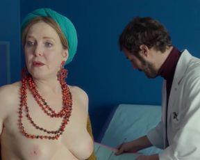 TV show scene Agnes Soral nude - HP s01e04 (2018)