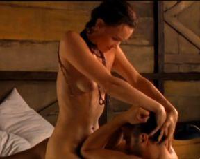 Explicit sex scene Julia Lemmertz naked - Um Copo de Colera (1999) Adult video from the movie