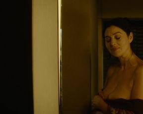 Hot scene Monica Bellucci nude - Spider in the Web (2019)