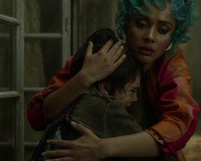TV show scene Cara Delevingne, Karla Crome nude - Carnival Row s01e04-06 (2019)