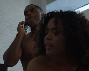 TV show scene Garcelle Beauvais nude - Power s06e03 (2019)