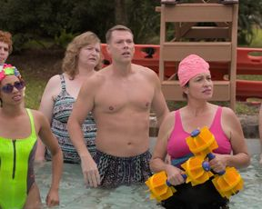 TV show scene Kirsten Dunst nude - On Becoming a God in Central Florida s01e04 (2019)