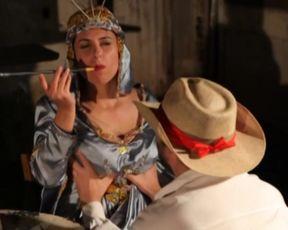 Hot scene Gisele Ferran, Raissa Vitral nude - Zombio 2 Chimarrao Zombies (2013)
