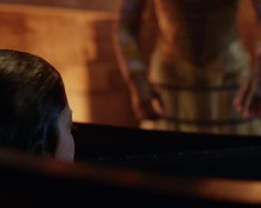 TV show scene Charlotte Hope nude - The Spanish Princess s01e01 (2019)