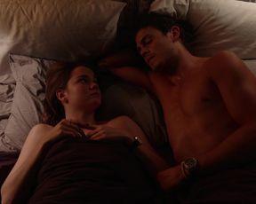 TV show scene Maia Mitchell nude - Good Trouble s01e01 (2019)