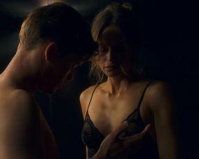 Sexy Katrine De Candole nude - MotherFatherSon s01e01 (2019) TV show scenes