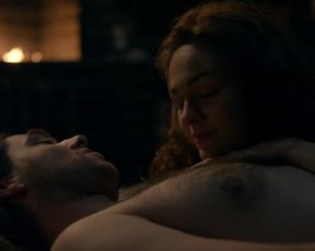 Actress Sophie Skelton nude - Outlander s04e08 (2018) Nudity and Sex in TV Show