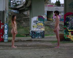 Explicit sex scene Viola von Scarpatetti nude - Chut(e) (2015) Adult video from the movie