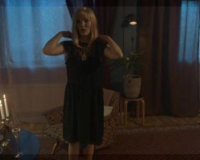TV show scene Janna Rasanen nude - Bordertown s02e08 (2018)