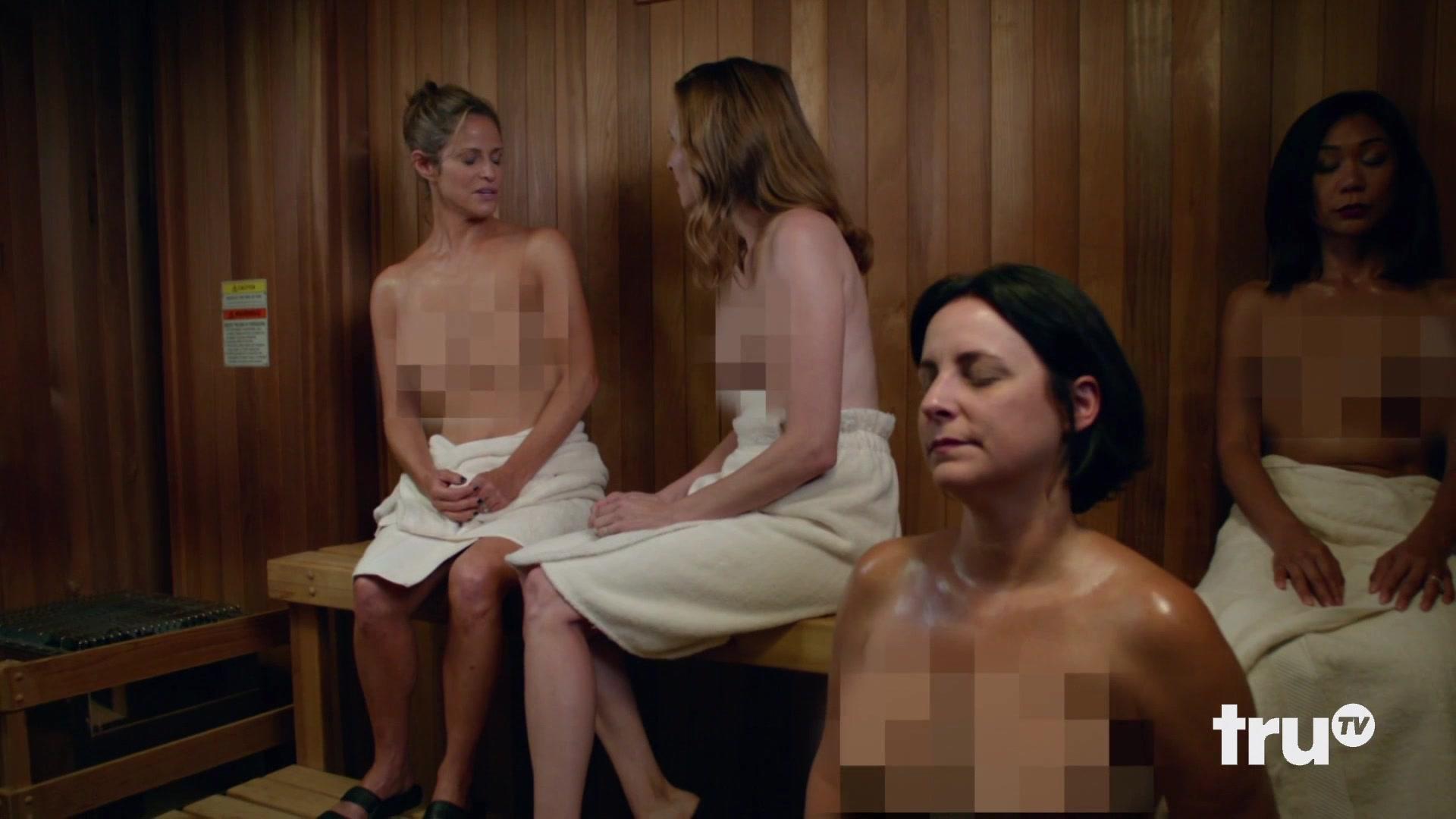Andrea Savage Nude Pics tv show scene andrea savage nude - i'm sorry s02e04 (2019