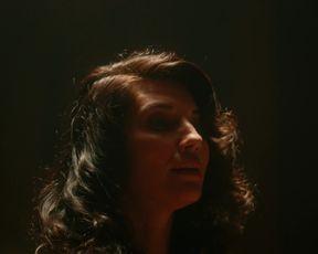 TV show scene Amara Zaragoza naked - Strange Angel s01e07 (2018)