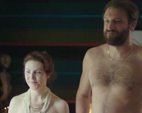 Actress Malya Roman nude, Anne-Elisabeth Blateau nude, Brigitte Faure nude - Nu s01e07 (2018) Nudity and Sex in TV Show