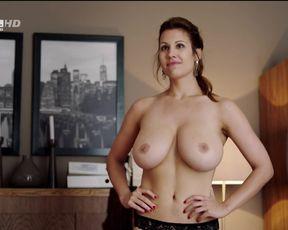 TV show scene Alexandra Horváth nude – Válótársak S02E02 (big tits sex)