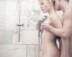 TWO WET - Bathroom Couple Sex Video