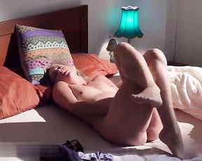 Splendid Chick Crossing Gams when Climax - Softcore Getting Off -