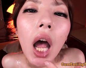 Censored Asian Oral Sex - Cumshot Video